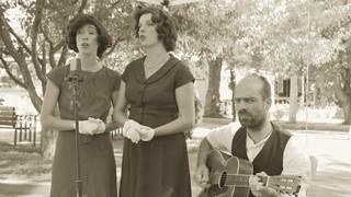 Yodler au marché avec The New Cackle Sisters