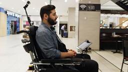 Rabii et son fauteuil