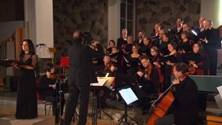 Éthel Guéret et le Choeur de chambre de Rimouski chantent Myn Lyking
