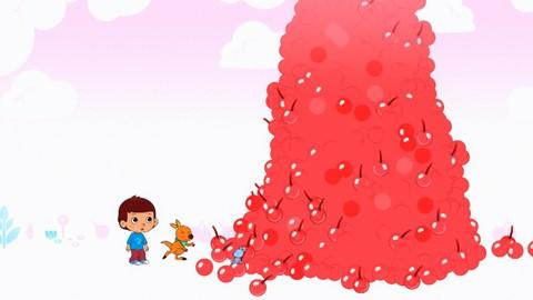 La montagne de cerises