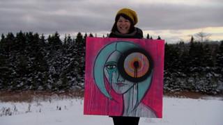Louba-Christina Michel | Écrire et peindre pour exister