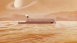 Un sous-marin spatial