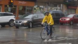 Rabii à vélo