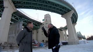 375e : Sous le pont Jacques-Cartier