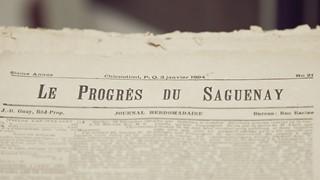 Le Progrès du Saguenay : quelques pages d'histoire