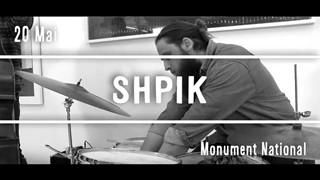 SHPIK au Festival Vue sur la Relève 2017
