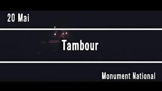 Tambour - Festival Vue sur la Relève 2017
