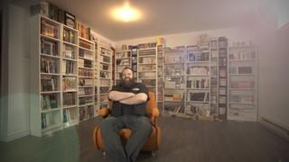 Dans la bibliothèque d'Alexandre Lachance, libraire