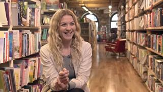 Stéphanie Boulay, ambassadrice de la Journée des librairies indépendantes