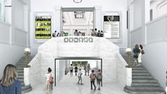 BAnQ Saint-Sulpice : dévoilement du lauréat du concours d'architecture