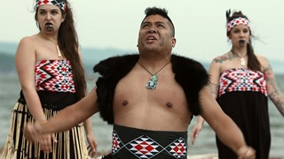 Danse maorie de Whakatopu Kotahi