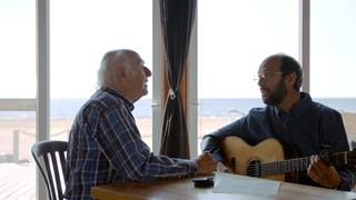 Gilles Vigneault et Michel Rivard