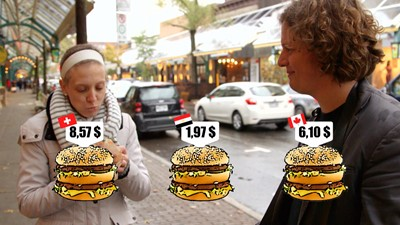 Votre Big Mac est-il trop cher? / L'amour a parfois un prix