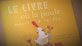 Valérie Boivin, illustratrice | Le livre où la poule meurt à la fin