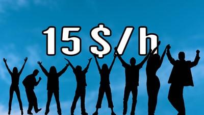 Augmenter le salaire minimum à 15 $ de l'heure : une bonne idée?