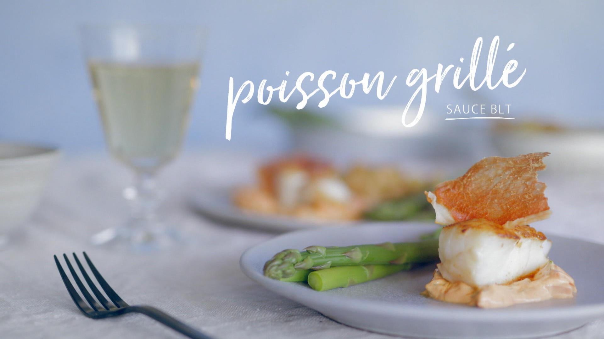 Poisson grill sauce blt cuisine fut e parents press s for Poisson cuisine