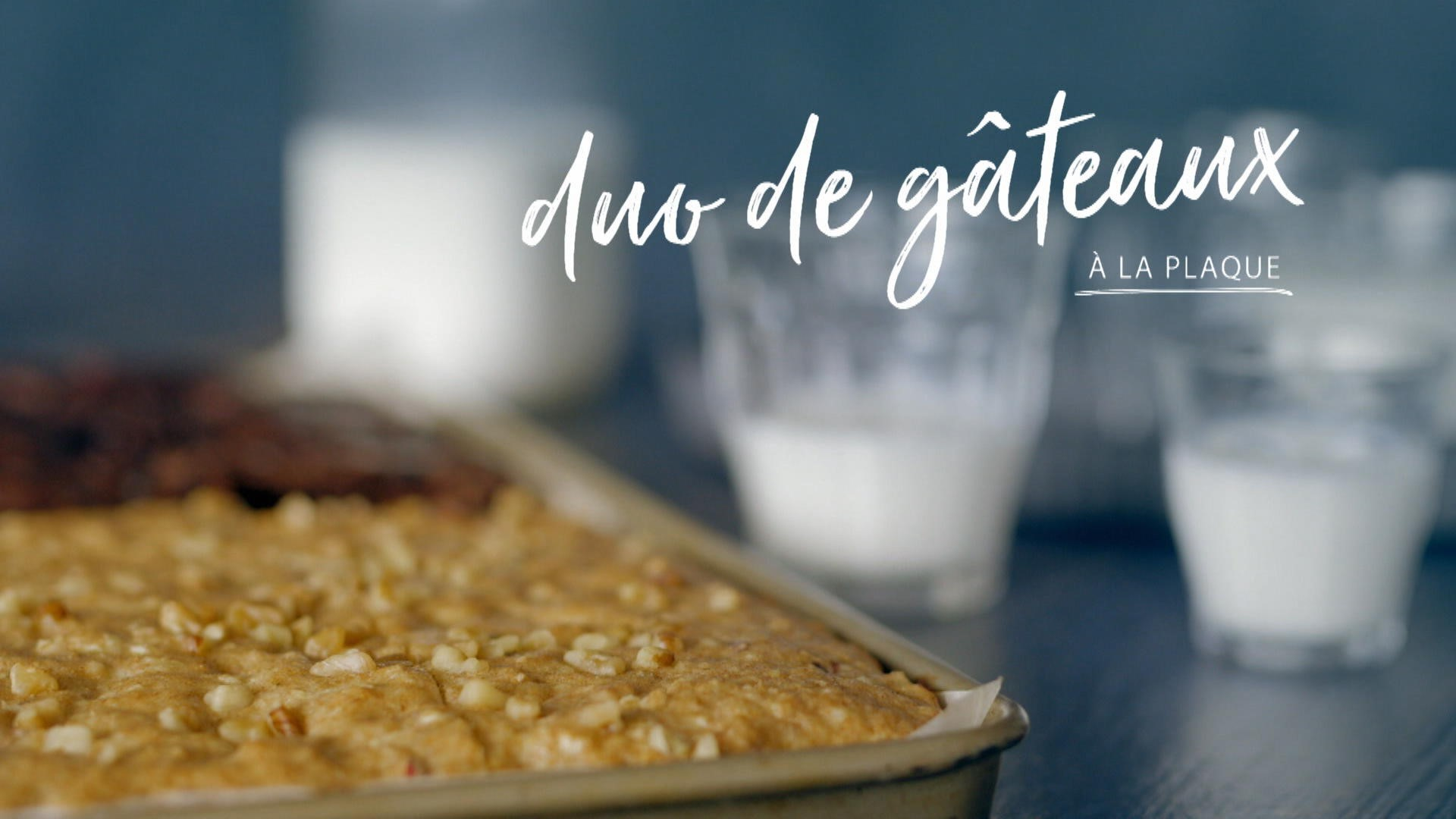 Duo de g teaux la plaque cuisine fut e parents for La cuisine de a a z