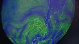 Une carte des vents mondiale