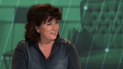L'animatrice et comédienne Marina Orsini