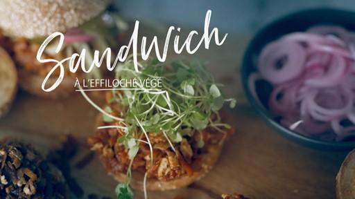 Sandwich à l'effiloché végé