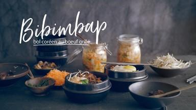 Bibimbap (bol coréen au boeuf grillé)