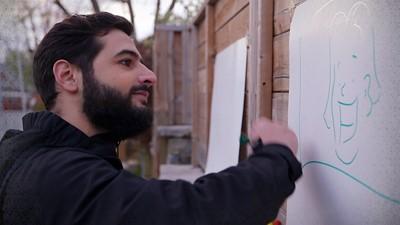 Rabbii Rammal, les papiers et les crayons
