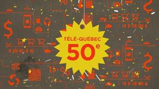 Capsule souvenir 50e Télé-Québec