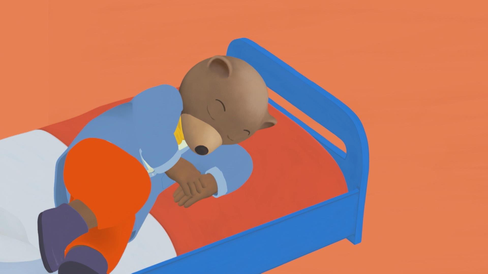 Petit ours brun doit patienter petit ours brun zone vid o t l qu bec - Petit ours brun piscine ...