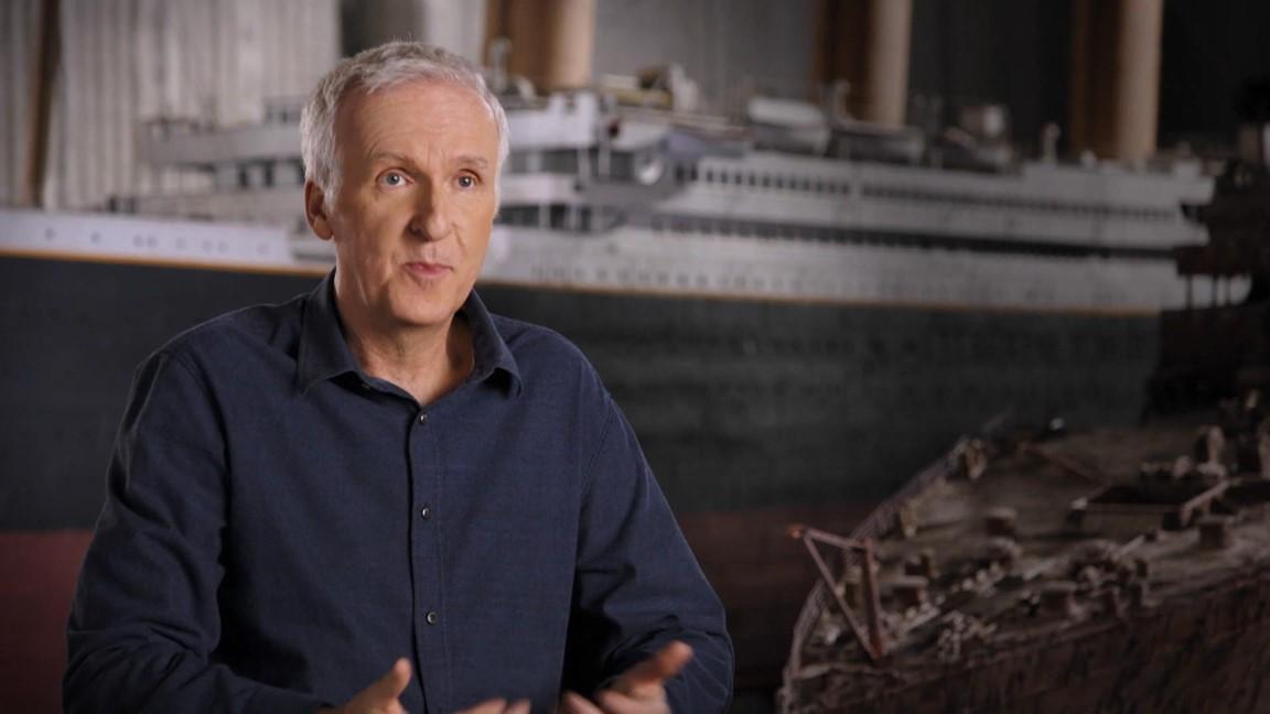 Retour sur le Titanic avec James Cameron
