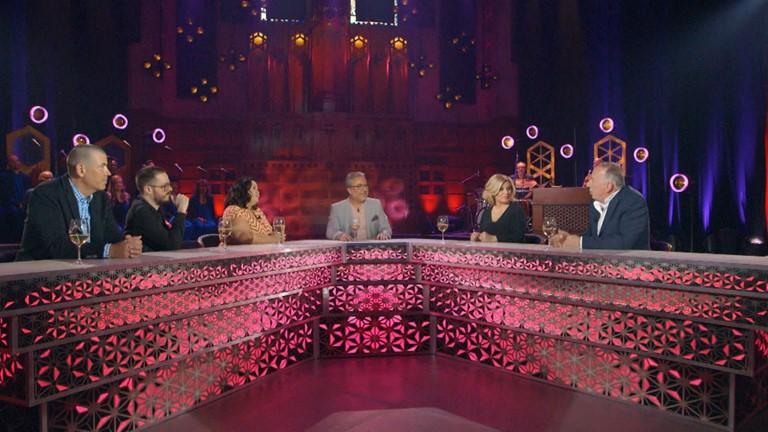 Manal Drissi, Benoît Dutrizac, Nicola Lafleur, Olivier Primeau et Guylaine Tanguay