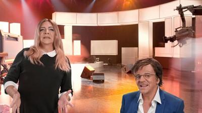Entrevue de Marc Labrèche avec Julie Snyder et Stéphane Laporte