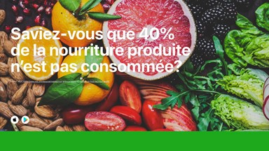 Diminuer le gaspillage alimentaire