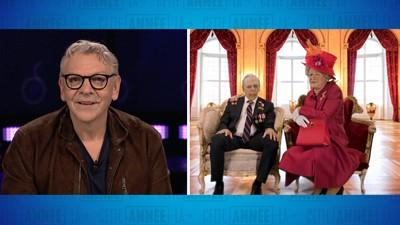 Entrevue de Marc Labrèche avec la reine Élisabeth II et le prince Philip