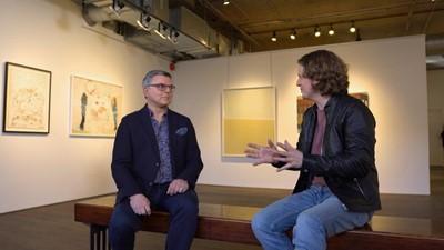 Le galeriste Simon Blais et l'indice du bonheur