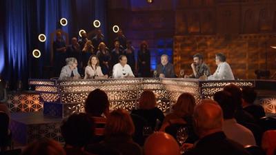 Normand Baillargeon, Paul François, Jean Lessard, Damien Robitaille et Tammy Verge