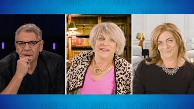 Entrevue de Marc Labrèche avec Denise Bombardier et Nathalie Petrowski