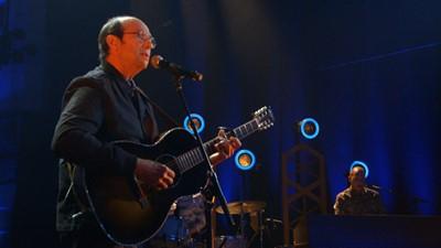 Prestation musicale Michel Rivard