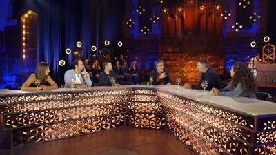 Ève Christian, Martin Cloutier, Geneviève Jodoin, Maxence Parrot et Mani Soleymanlou