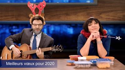 Les voeux du Nouvel An de Denis Lévesque et Pascale Wilhelmy
