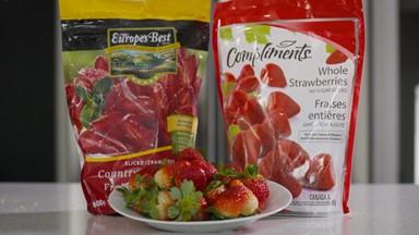 Aliments frais, surgelés et en conserve