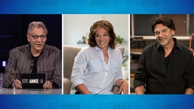 Entrevue de Marc Labrèche avec Marina Orsini et Nicola Ciccone