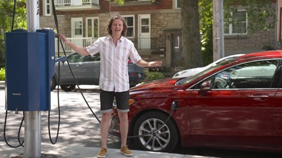 Une borne de recharge chez soi, pour son véhicule électrique, ça coûte combien?