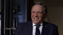 Entrevue avec François Legault
