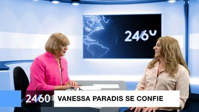 Entrevue d'Anne-Marie Dussault avec Vanessa Paradis